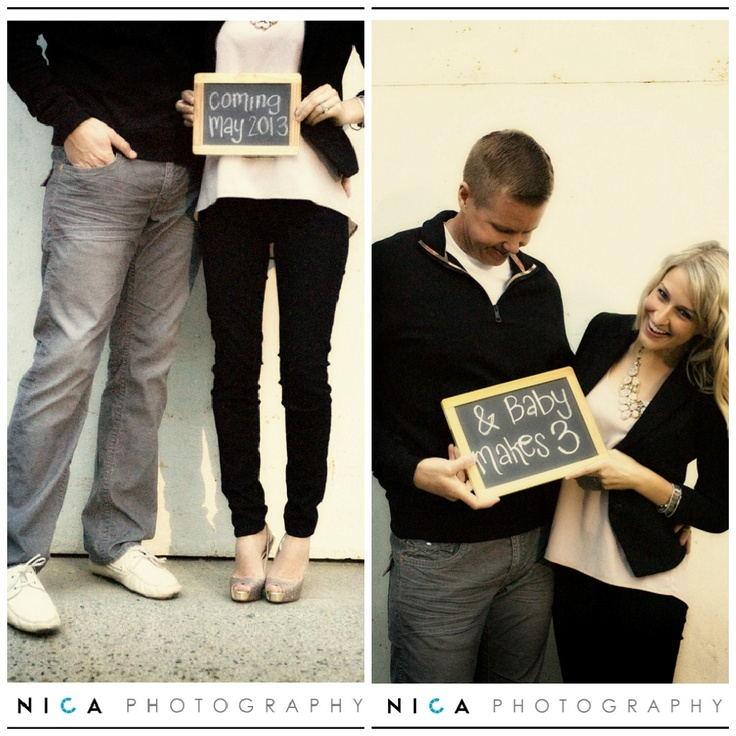 81 best Pregnancy Announcements images – Cute Birth Announcement Ideas