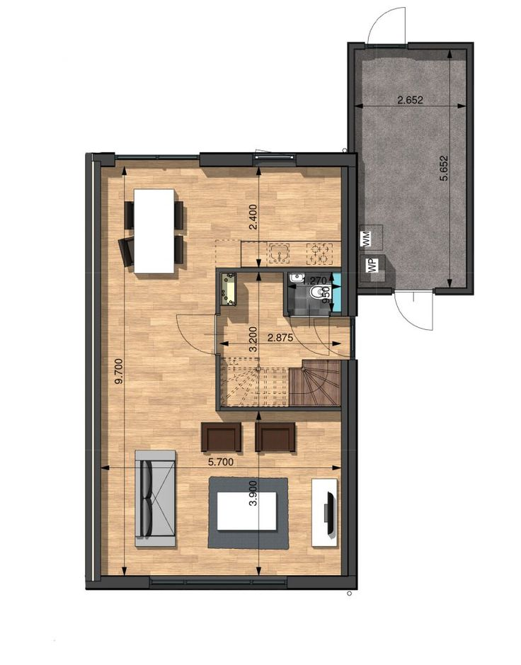 266 best House Afrika images on Pinterest Floor plans, House - garagen apartment gastezimmer bilder