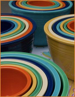 Fiestaware! I Love it!: Vintage Fiestawar, Fiestas Nests Bowls, Mixed Bowls, Fiestawar Bowls, Summer Color, Fiestawar Color, Fiestas Dishes, Fiestas Ware, Bowls Vintage Mixed