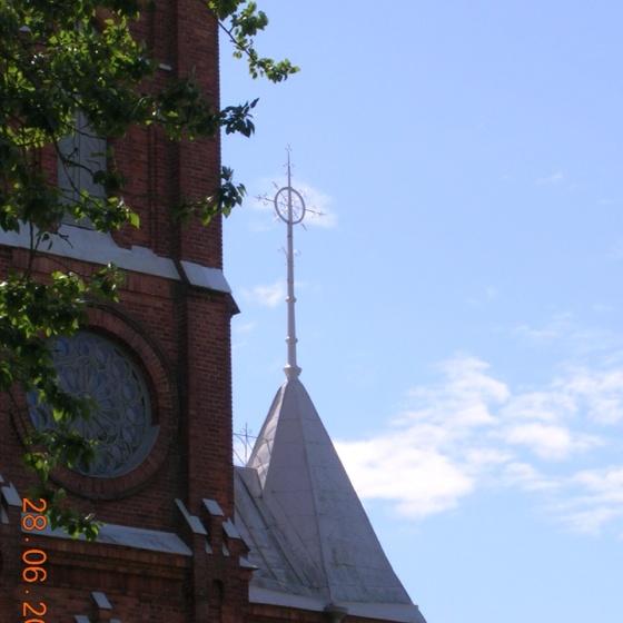 Kristinestad, Finland. New Church