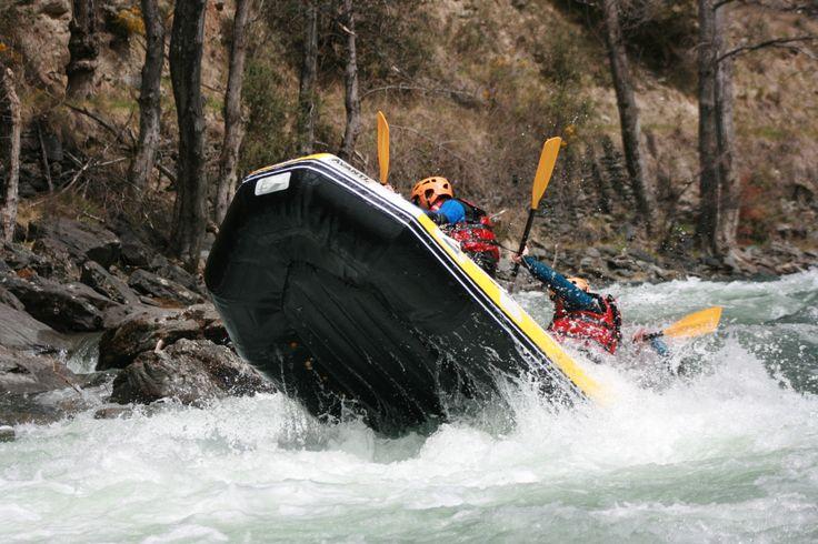 Rafting sour la Noguera Pallaresa en Espagne