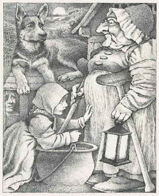 Illustration art Black and White vintage lit History children's ...