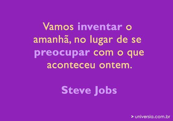 15 frases  motivacionais de Steve Jobs