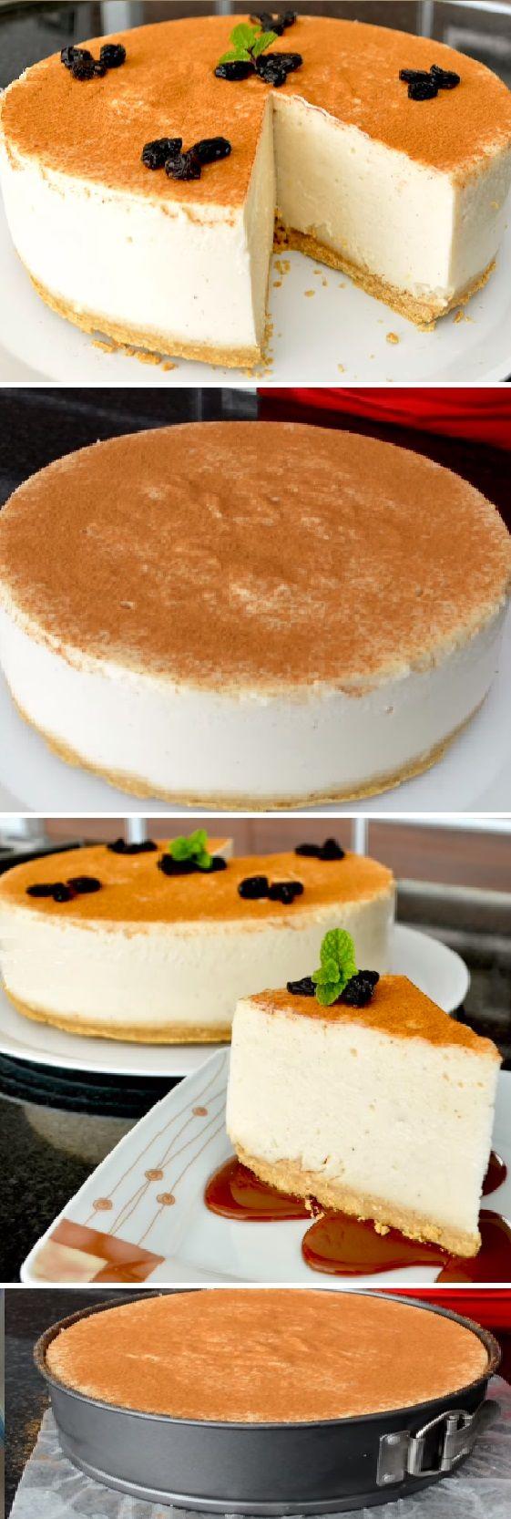 """PAY DE ARROZ CON LECHE SIN HORNO """" By Vicky Receta Facil.  #pay #arroz #pie #sinhorno #postres #cheesecake #cakes #pan #panfrances #panettone #panes #pantone #pan #recetas #recipe #casero #torta #tartas #pastel #nestlecocina #bizcocho #bizcochuelo #tasty #cocina #chocolate   Si te gusta dinos HOLA y dale a Me Gusta MIREN..."""
