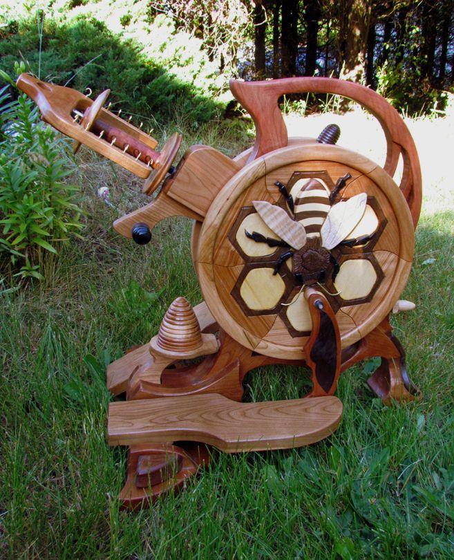Olympic Spinning Wheels - Bee wheel