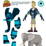 Wild Kratts Coloring Pages