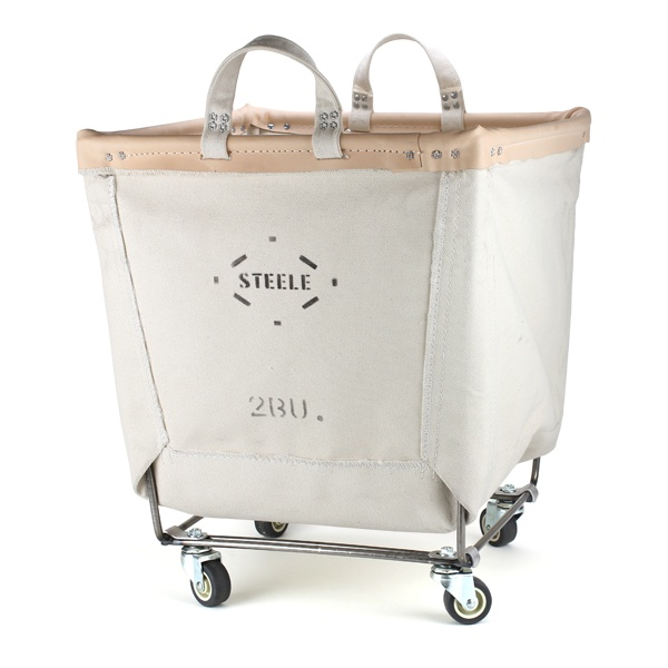 Steele Canvas Laundry Cart by Old Faithful Shop