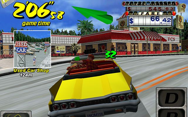 Yeah, Yeah, Yeah, Yeah, Yeah! Crazy Taxi is now available for iOS. Say goodbye to your weekend.