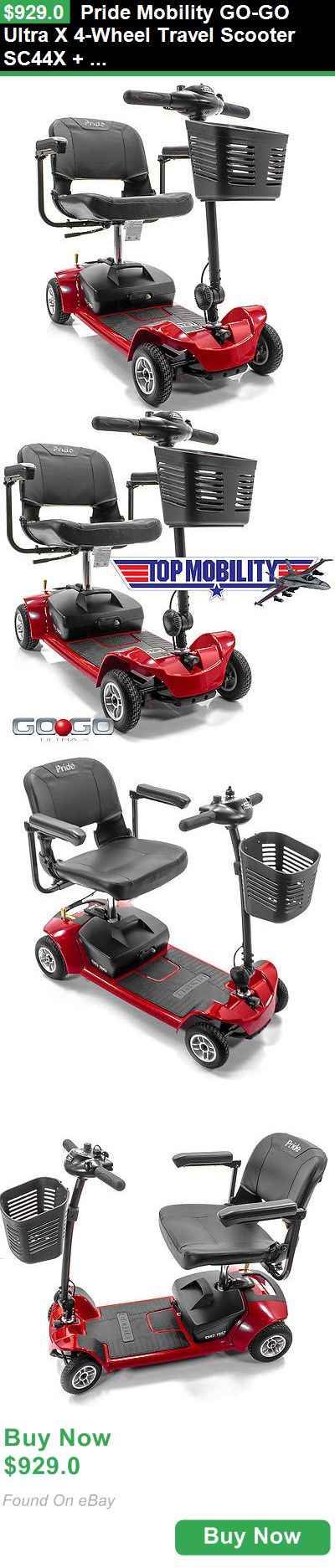 Mobility Scooters 75068: Pride Mobility Go-Go Ultra X 4-Wheel Travel Scooter Sc44x + Free Accessories BUY IT NOW ONLY: $929.0