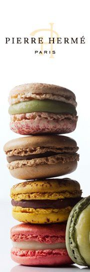 Pierre Herme. Paris #food #macarons the best flavours - especially the chocolate mogador