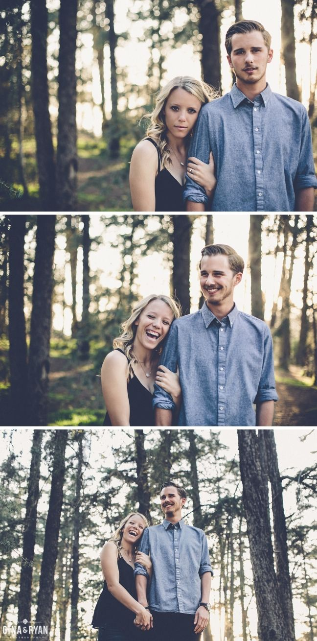 Woodsy Engagement Session, Los Angeles