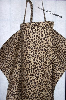 This is different. Leopard print nursing cover: Leopard Print