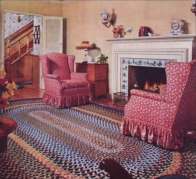 73 best images about 1950 39 s rooms on pinterest vintage for Early american decorating style