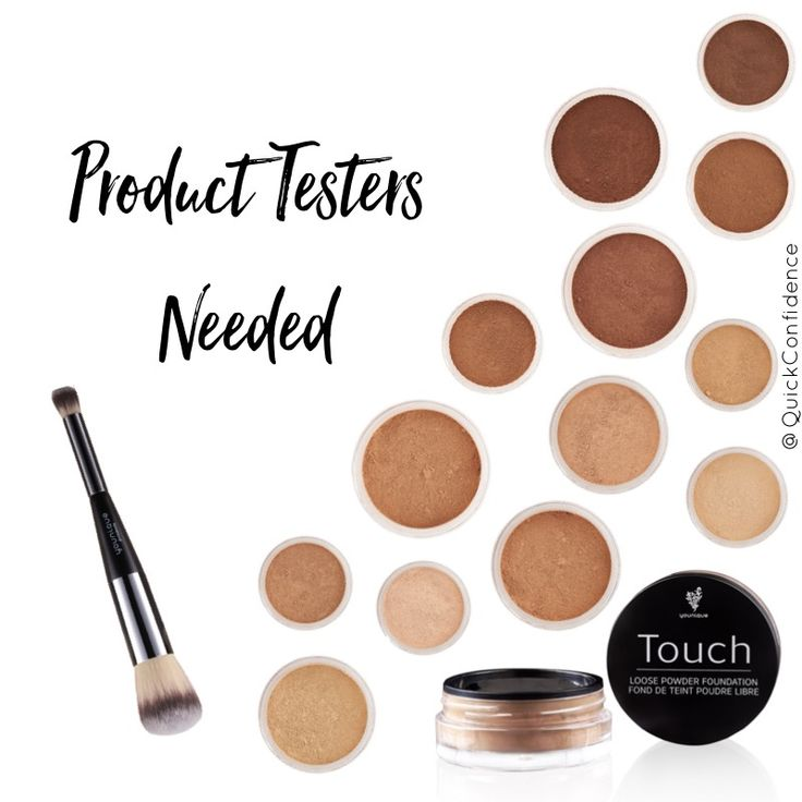Product testers needed to try the all new mess-free loose powder foundation from Younique. Ultralight, stays in place, super easy