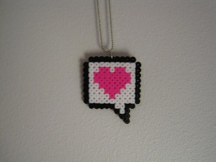 Hama Beads Heart