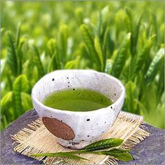 Sencha Tea- Japanese green tea with amazing health benefits. One of them being Catechin, a type of polyphenol,one of the most powerful antioxidants.