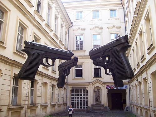 Museo Post Moderno in Via Karlova - Praga