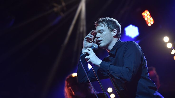 Watch Michael C. Hall perform David Bowie's Lazarus live at the Mercury Prize…