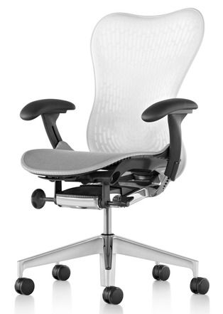 Redesign of the iconic Herman Miller chair.  These are the most comfortable office chairs you will ever sit in.  Amazing!