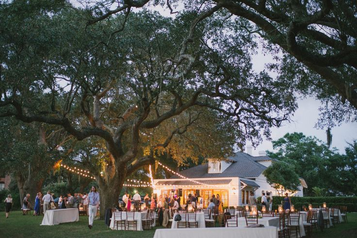 Rehearsal dinner ideas from PPHG events | The River House at Lowndes Grove Plantation in Charleston, South Carolina | Photo by Sean Money + Elizabeth Fay