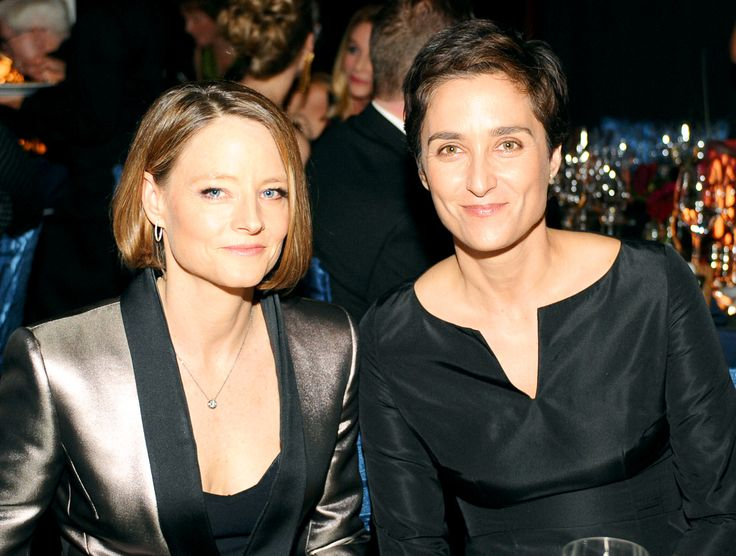 Jodie Foster just married Helena's boo (yes, that is an L Word reference).