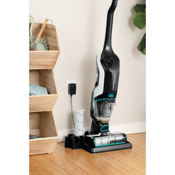 Bissell Crosswave Cordless Max All In One Wet Dry Vacuum And Mop For Hard Floors Area Rugs In 2020 Floor Area Rugs Wet Dry Vacuum Hard Floor