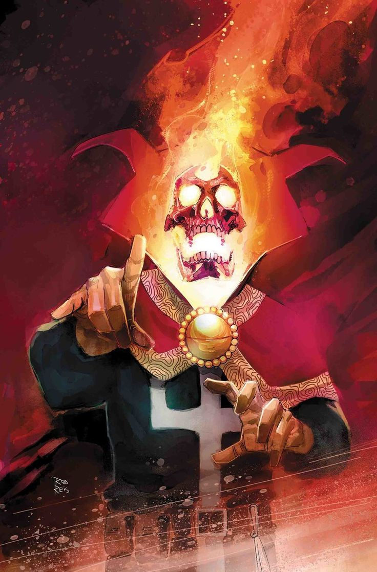 Coming in March 2018 a Doctor Strange event, Damnation.