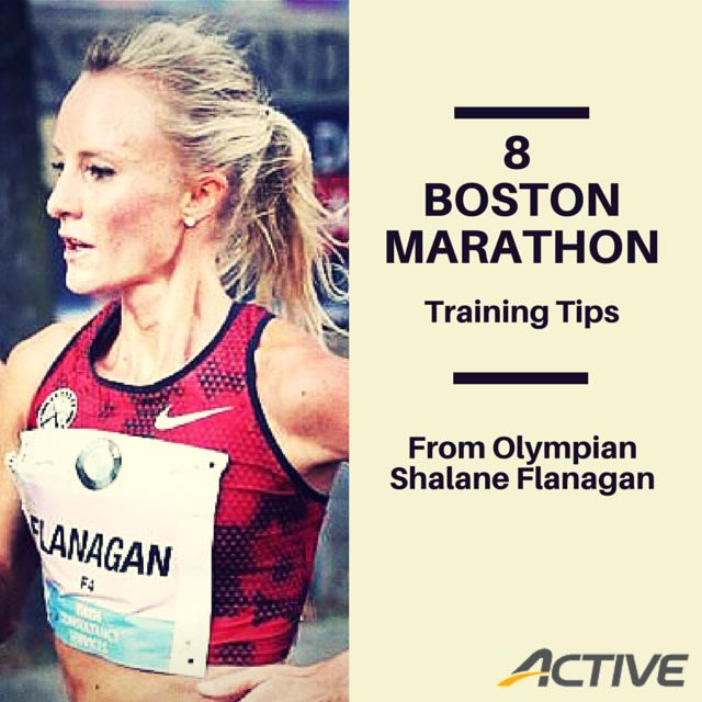 8 Boston Marathon Training Tips From Olympian Shalane Flanagan