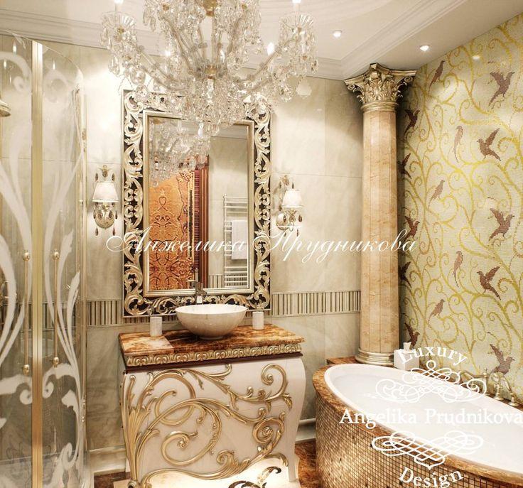 Дизайн Интерьера квартиры в стиле Золотая Классика - фото