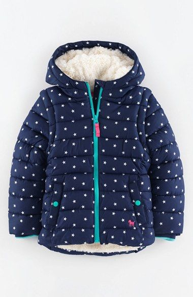Mini Boden Convertible Quilted Jacket (Toddler Girls, Little Girls & Big Girls) | Nordstrom
