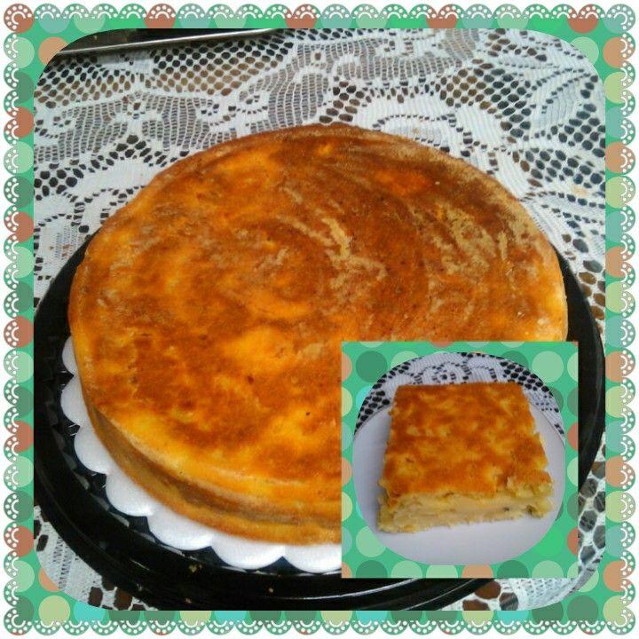 Torta de calabaza y piña