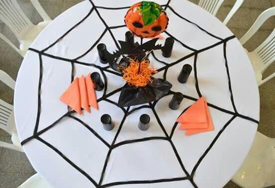 Decoración mesas cumpleaños #Halloween