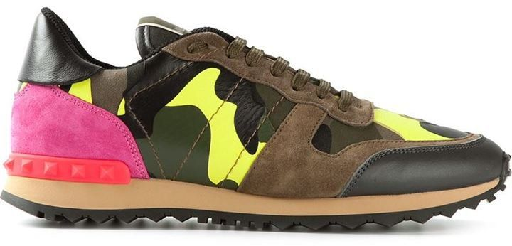 Pin for Later: 20 Pieces That'll Get You Snapped This Fashion Week Valentino Sneakers