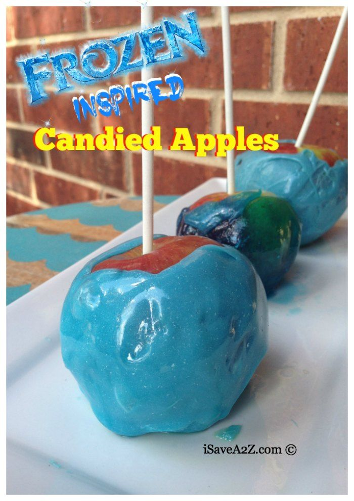 Jolly Rancher Candied Apples
