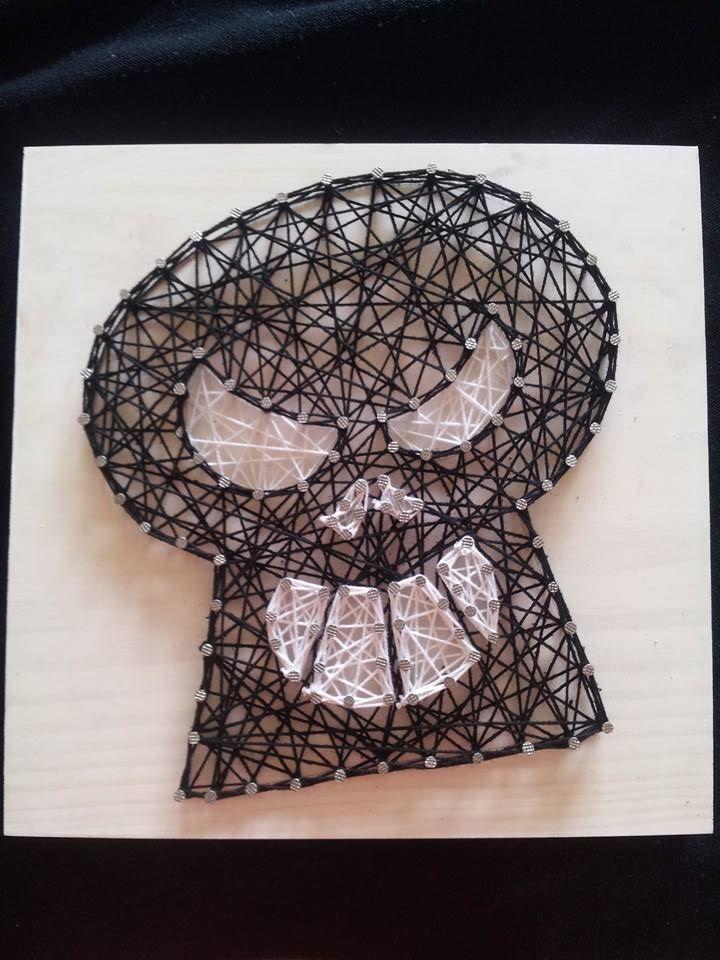 Skull String Art. $24,95 AUD DIY kit. Check us out on Facebook at All Strung Up https://www.facebook.com/pages/All-Strung-Up/915873695199667?ref=hl