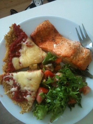 quinoa pizza crust Hey Amie, Or we can try this one?????