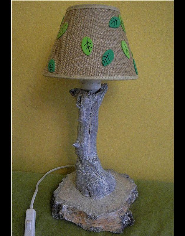 Lampka drzewko - czterolistnakoniczyna - Lampki
