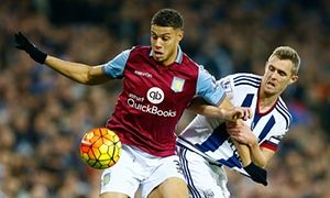Jordan Ayew denied penalty for Aston Villa in dull draw with West Brom