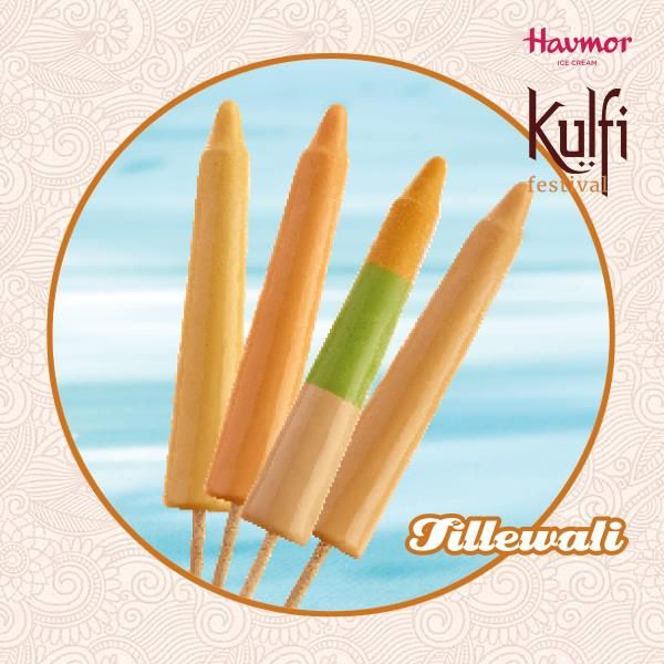 What's on your plate? The answer better be our delicious range of Tillewali Kulfi! Take on the Kulfi Festival by Havmor now while it still lasts!