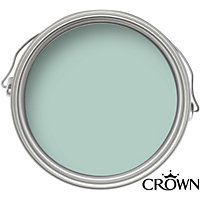 Crown Kitchen and Bathroom Soft Duck Egg - Mid-sheen Paint - 2.5L