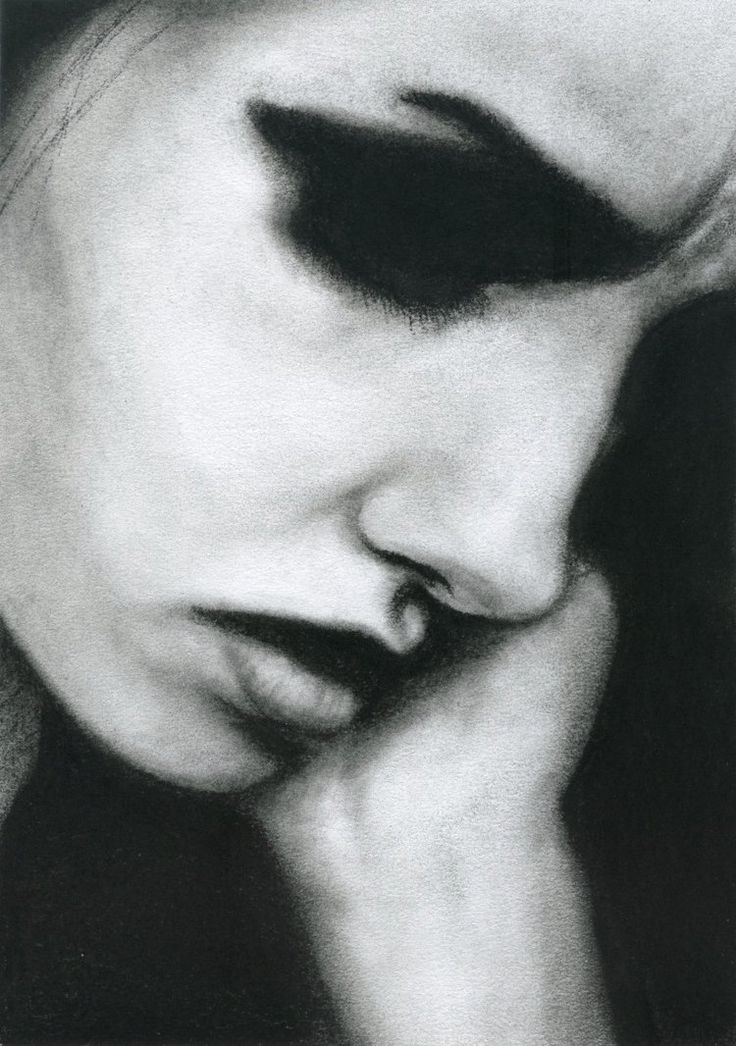 Charcoal is best when used for dramatic contrast