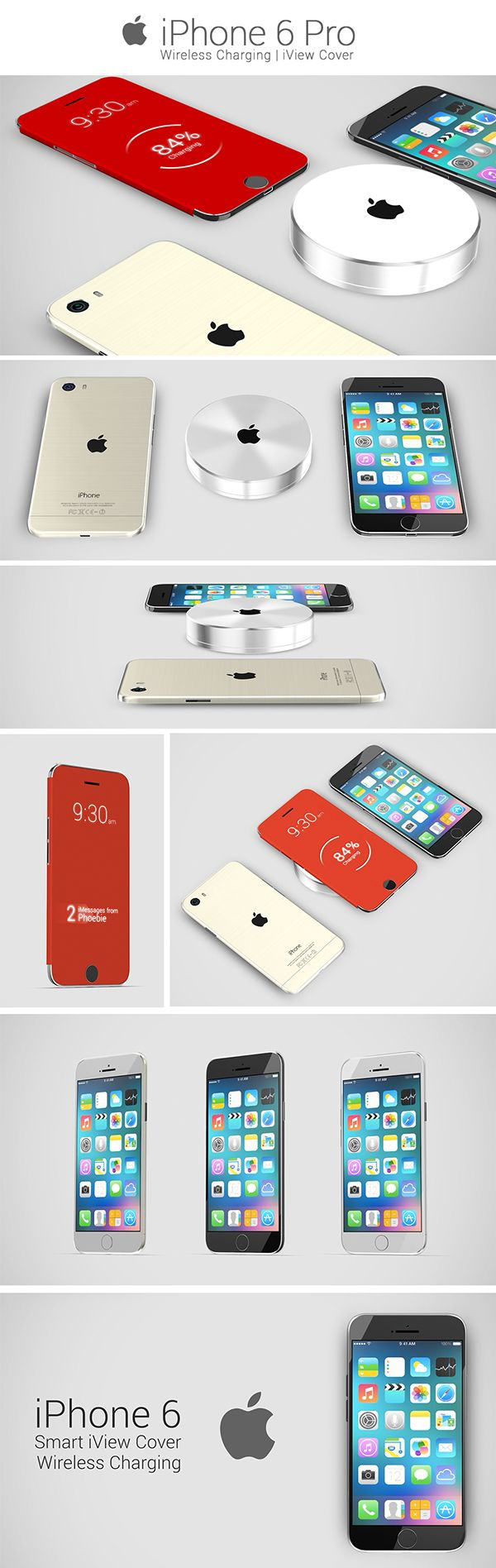 This 'iPhone 6' Concept Includes Wireless Charging And A Surprise Accessory