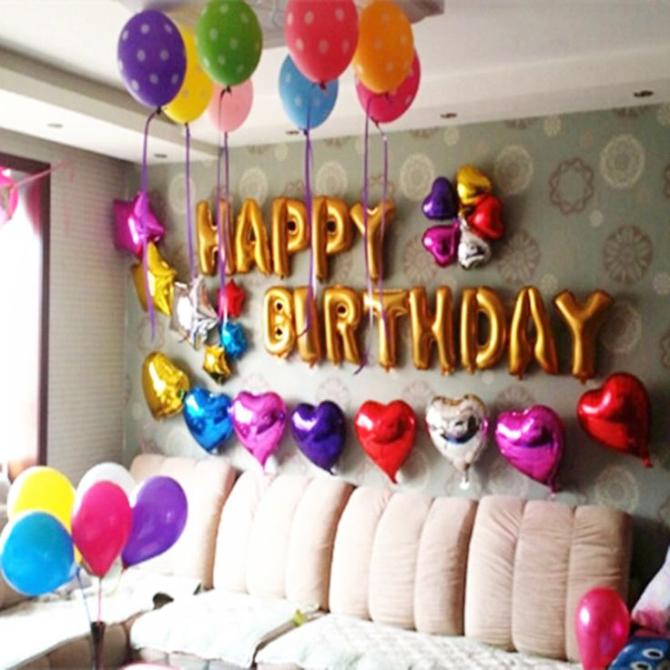 Best 25 balloon birthday themes ideas on pinterest for B day decoration photos