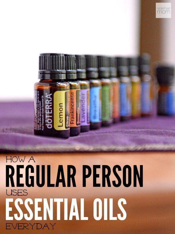 Ever wonder how a normal person uses essential oils in her daily life? Here is a snapshot of how essentials oils can work in the most normal of households.