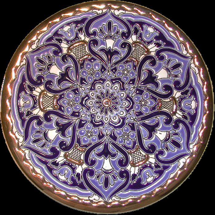 Decorative plate made in south spain plates a plenty pinterest - Decoratieve platen ...