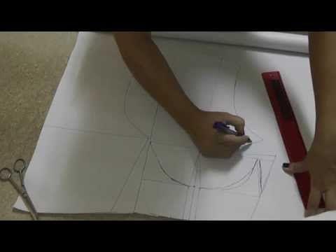 Curso de ropa interior ¿Como hacer un brassier? video 70 - YouTube