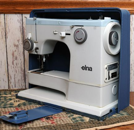 Elna SU.  My mom has a machine like this and I grew up sewing on it.  It is a wonderful machine.