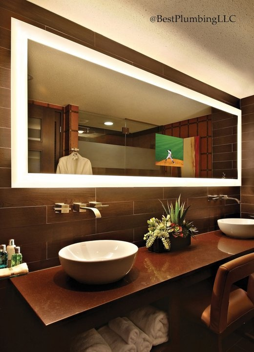 Electric Mirror Available @ Best Plumbing Seattle, WA (206) 633   1700