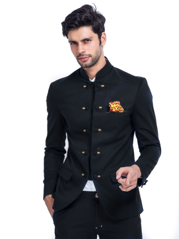 THE DECCAN PRINCE BANDHGALA   #men #blazer #elegant #slimfit #casual #formal #bandhgala #black #blue ##mensfashion #mensstyle #menstyle suitsformen #suits #SoftSummer #lookbook #aboutalook #ootd #fashion #fashionmen #lifestyle #ootn #dappermen #dappergentlemen #menstrend #whatstrending #nowtrending #currentlytrending #whattowear #buy #online  For more visit mrbutton.in/product-category/blazers/