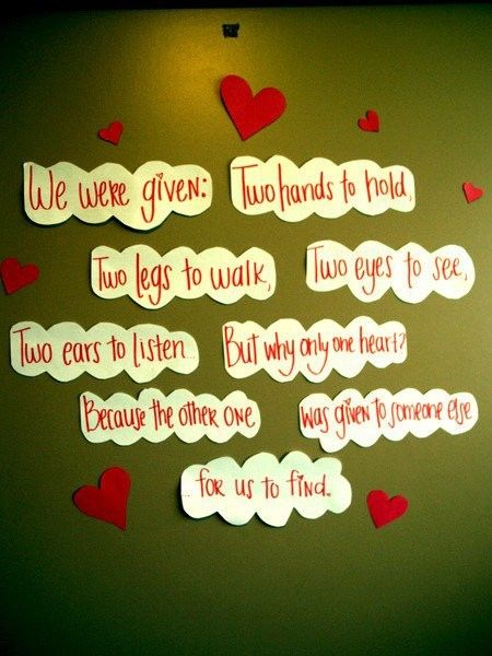 Awww love this ... I Love My Hubby! :): Valentine Day, Cute Quotes, Two Heart, True Love, Cute Idea, Ears, My Others Half, Love Quotes, Sweet Word
